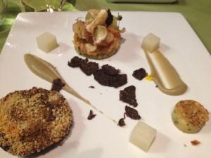 Vegetarian Portabella Dinner
