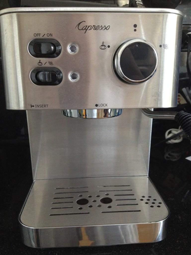Inspiring Kitchen Capresso ECPRO espresso machine