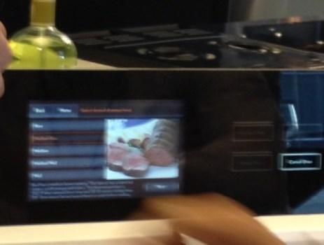 digital Jenn Air oven screen