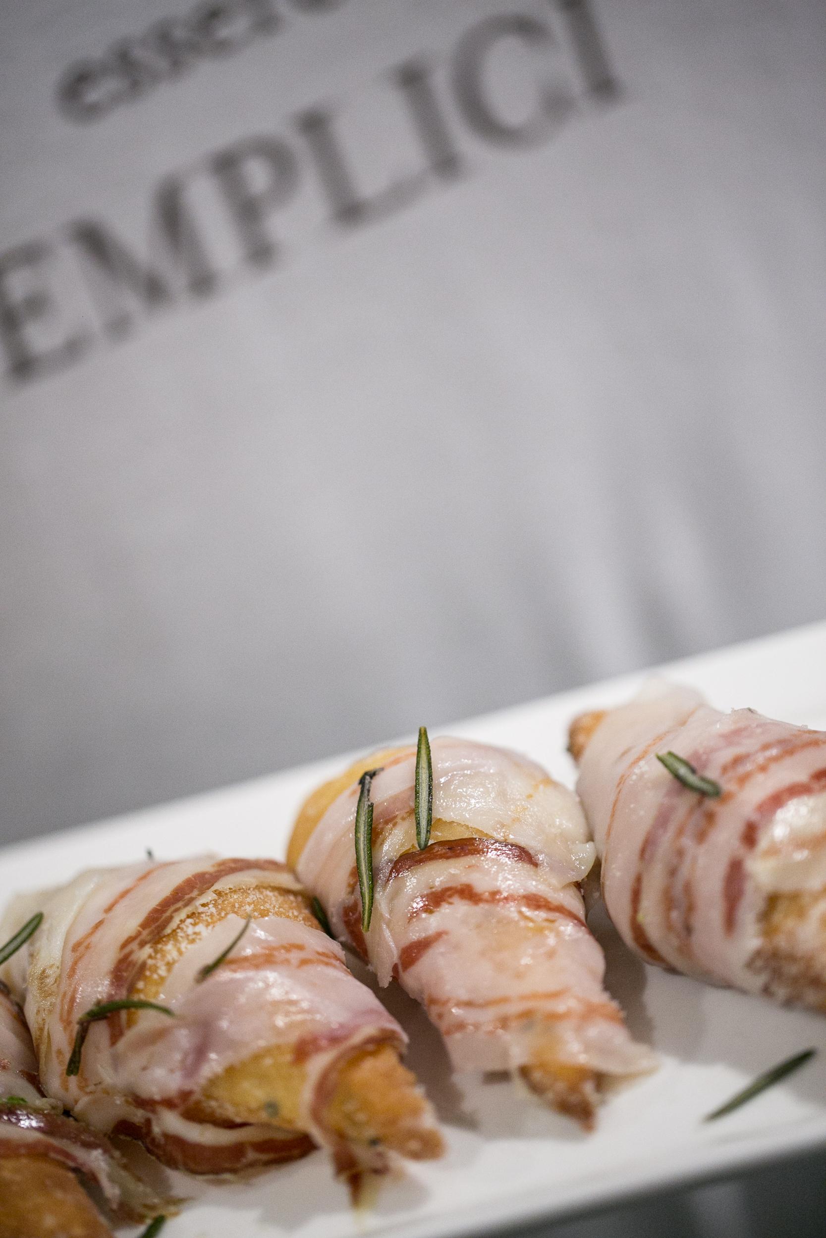 Inspiring Kitchen gnocco with lardo