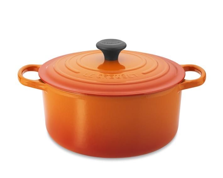 Inspiring Kitchen Le Creuset cast iron dutch oven cookware