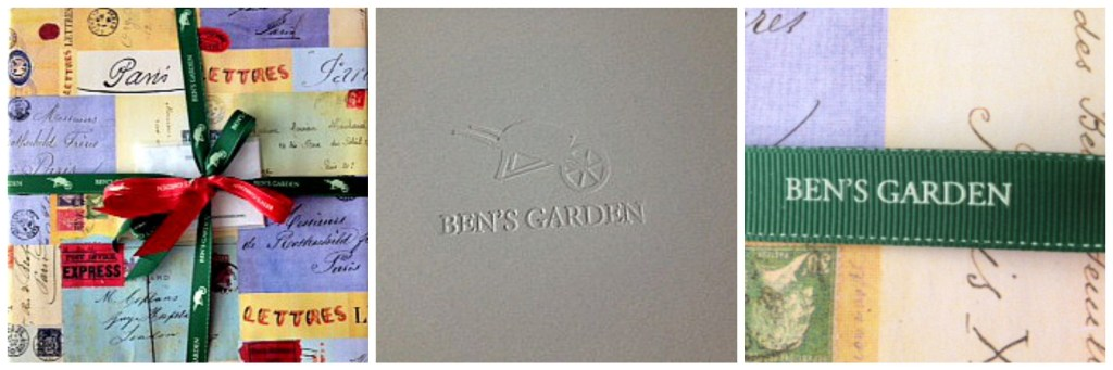 Inspiring Kitchen Bens garden wrapping gift guide