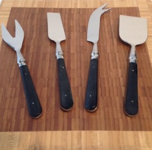 Inspiring Kitchen cheese knives on block gift guide