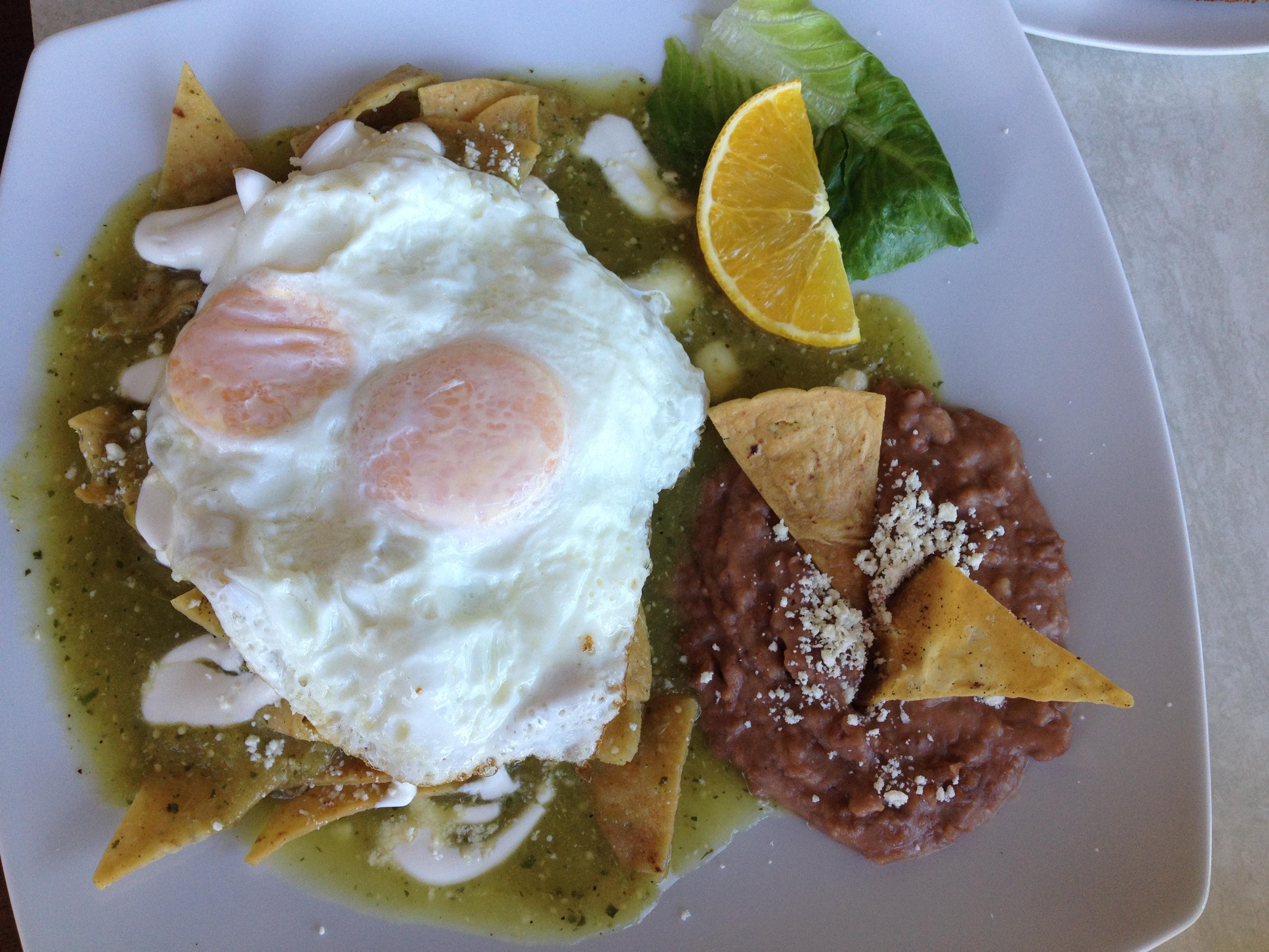 Inspiring Kitchen Puerto Vallarta Chiliquiles