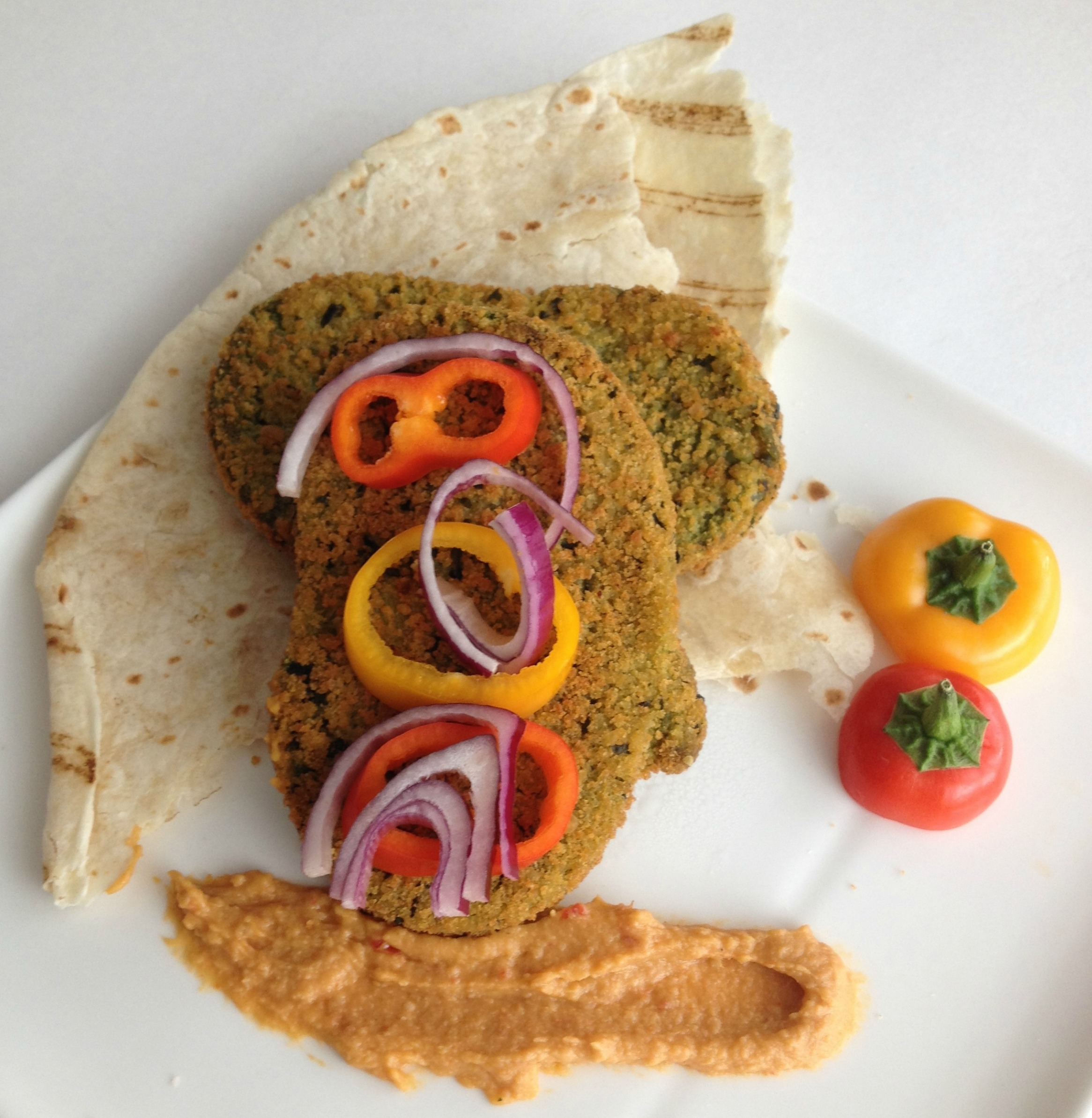 Inspiring Kitchen Veggie Patties