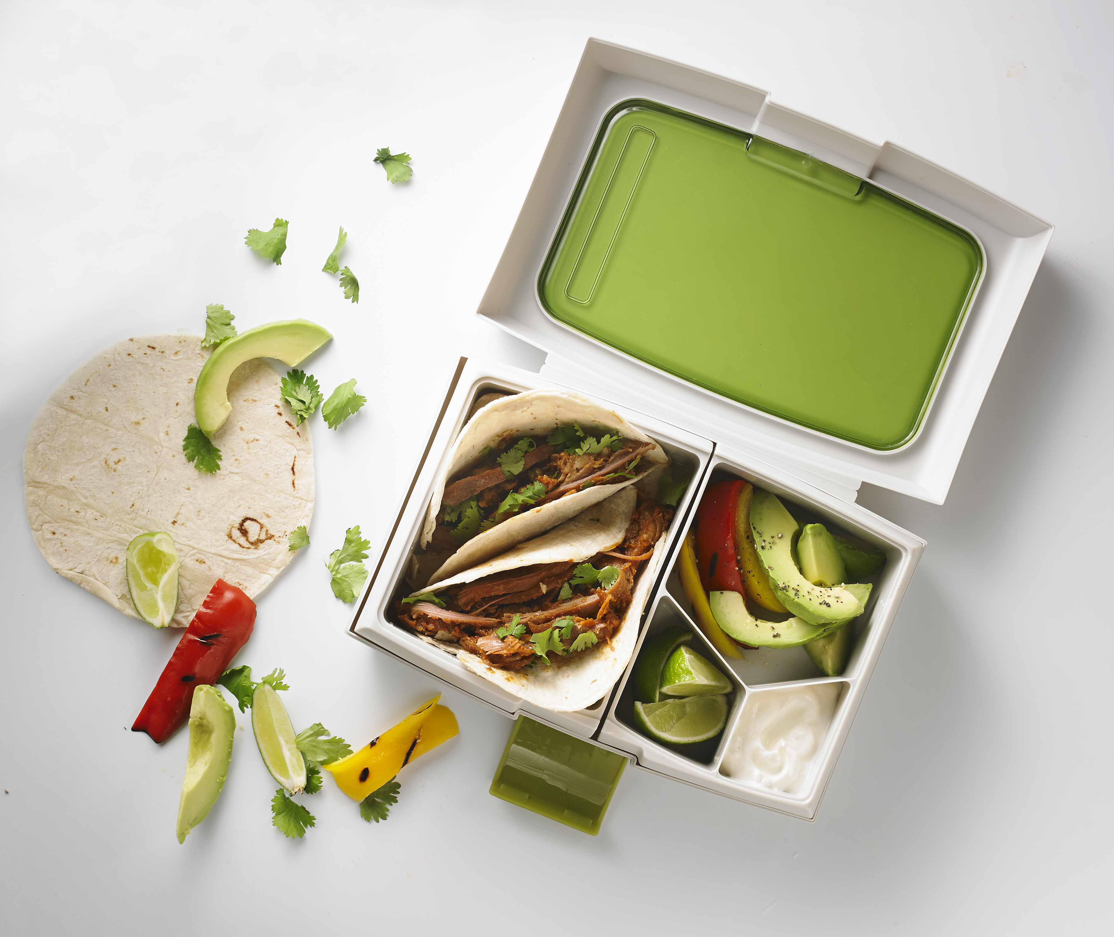 Inspiring Kitchen No Spill School Lunch Container