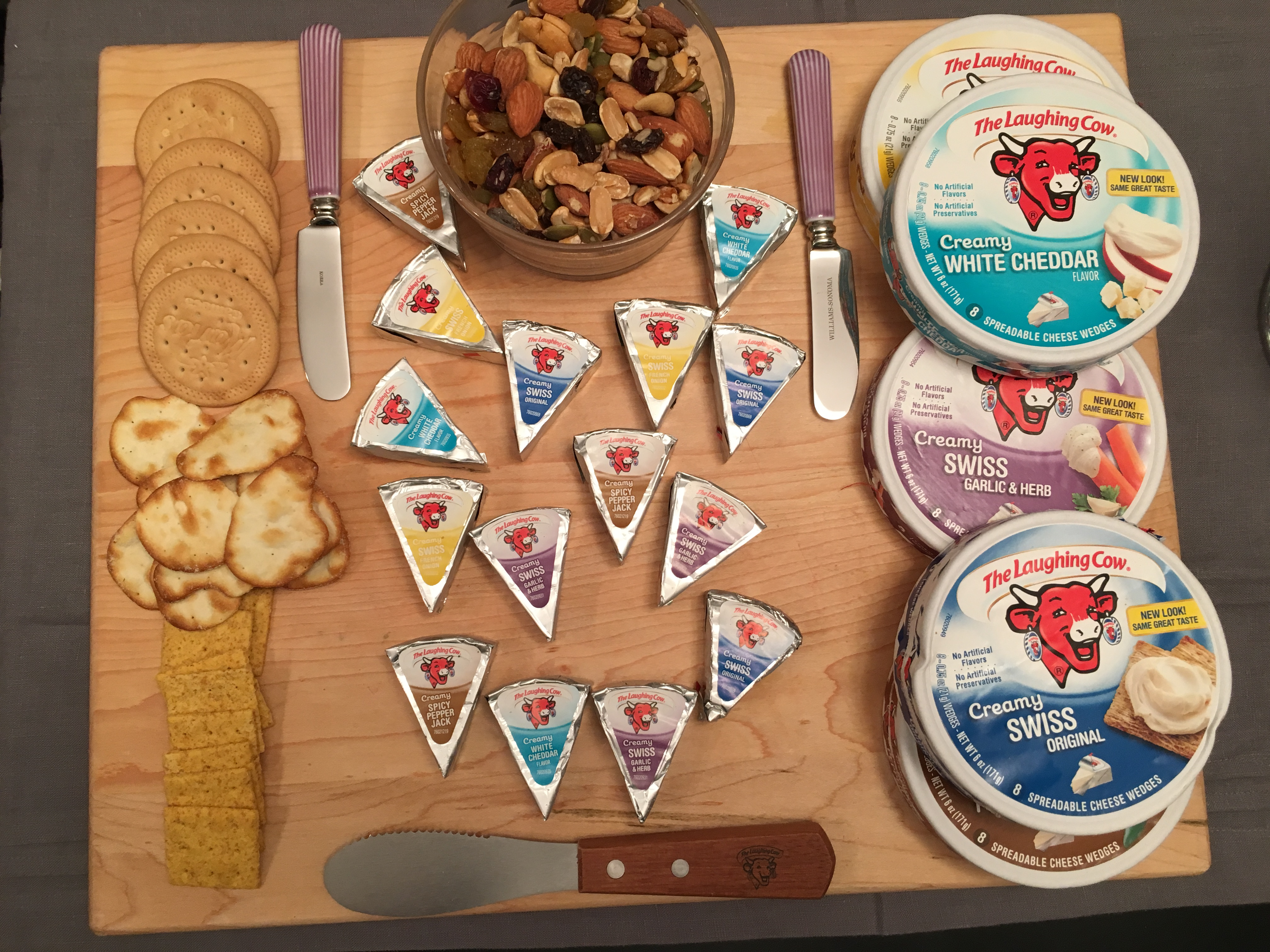 Inspiring Kitchen Creative Snacking with The Laughing Cow