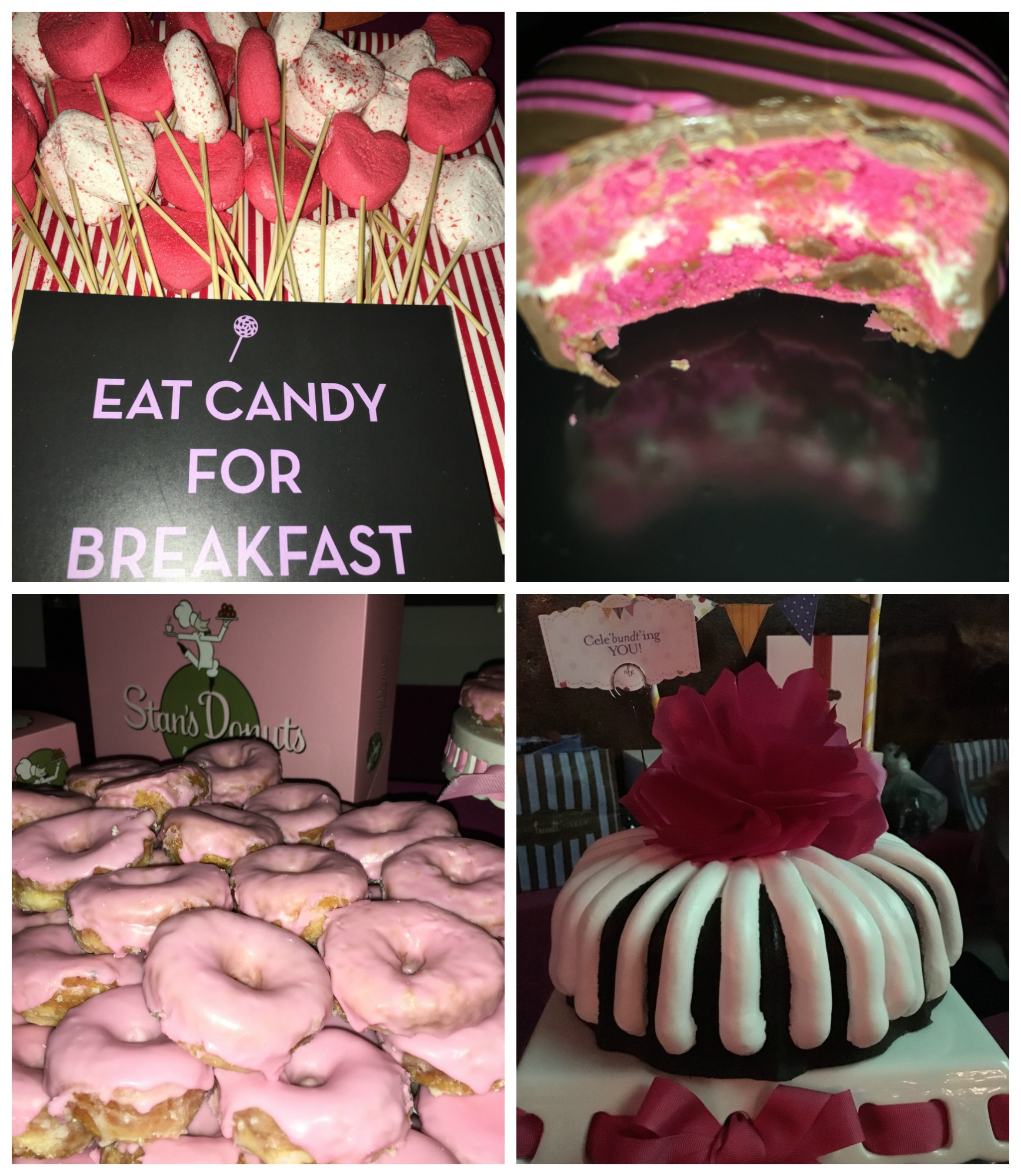 Tickled Pink dessert Breast Cancer Awareness Gala