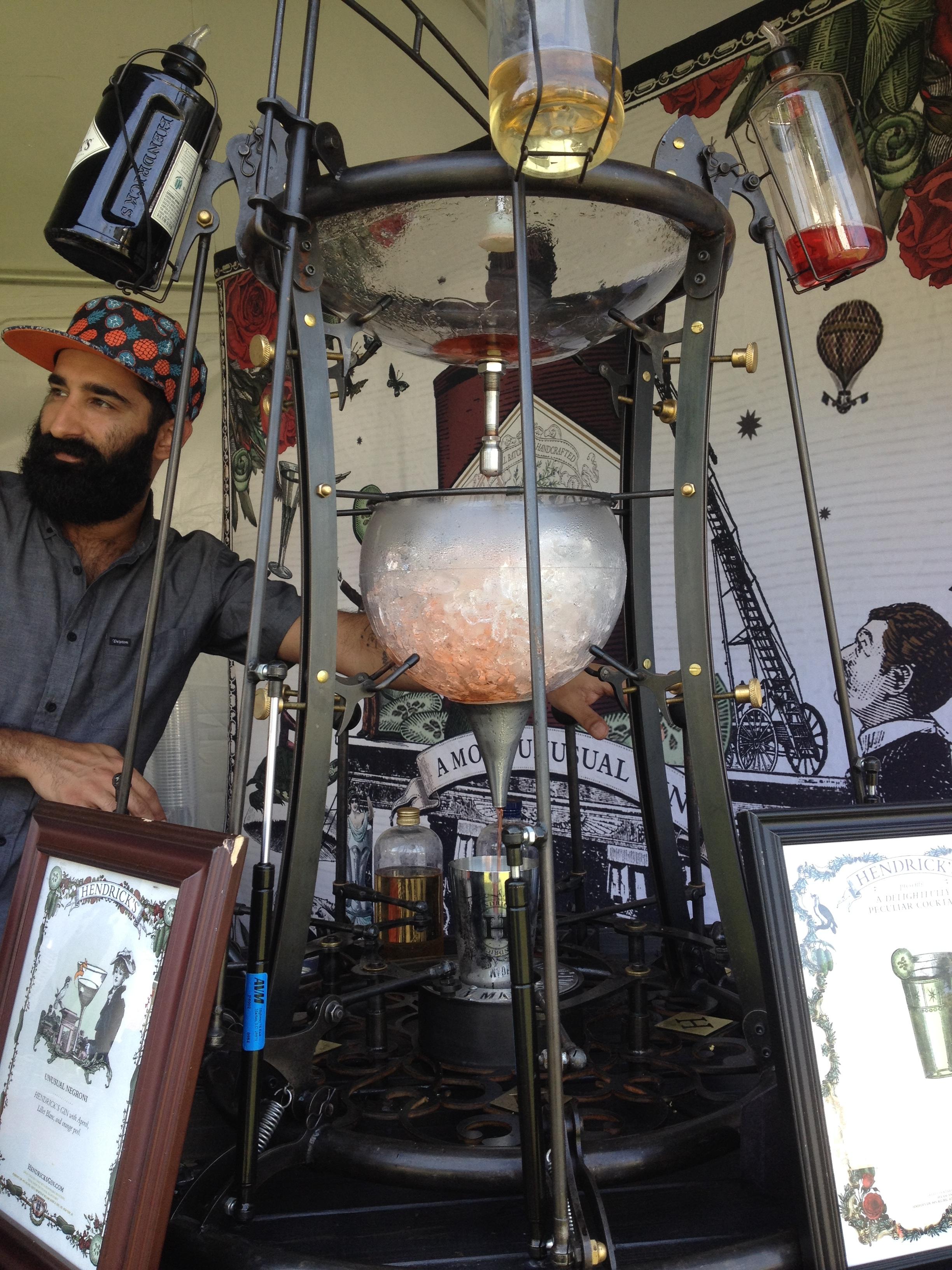 hendricks gin bartender