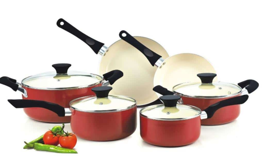college kitchen ceramic cookware amazon picm