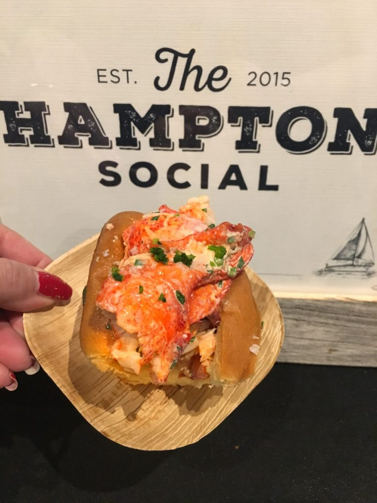 LuxeHome Chill 2017: Food, Wine and Kitchen Design the hampton social lobster roll
