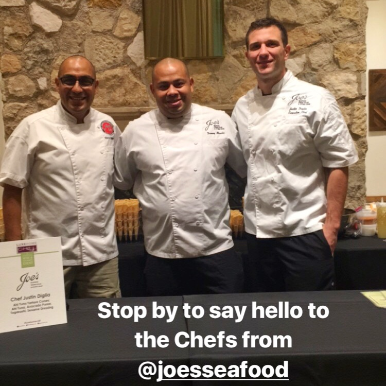 LuxeHome Chill 2017: Food, Wine and Kitchen Design joes seafood chefs
