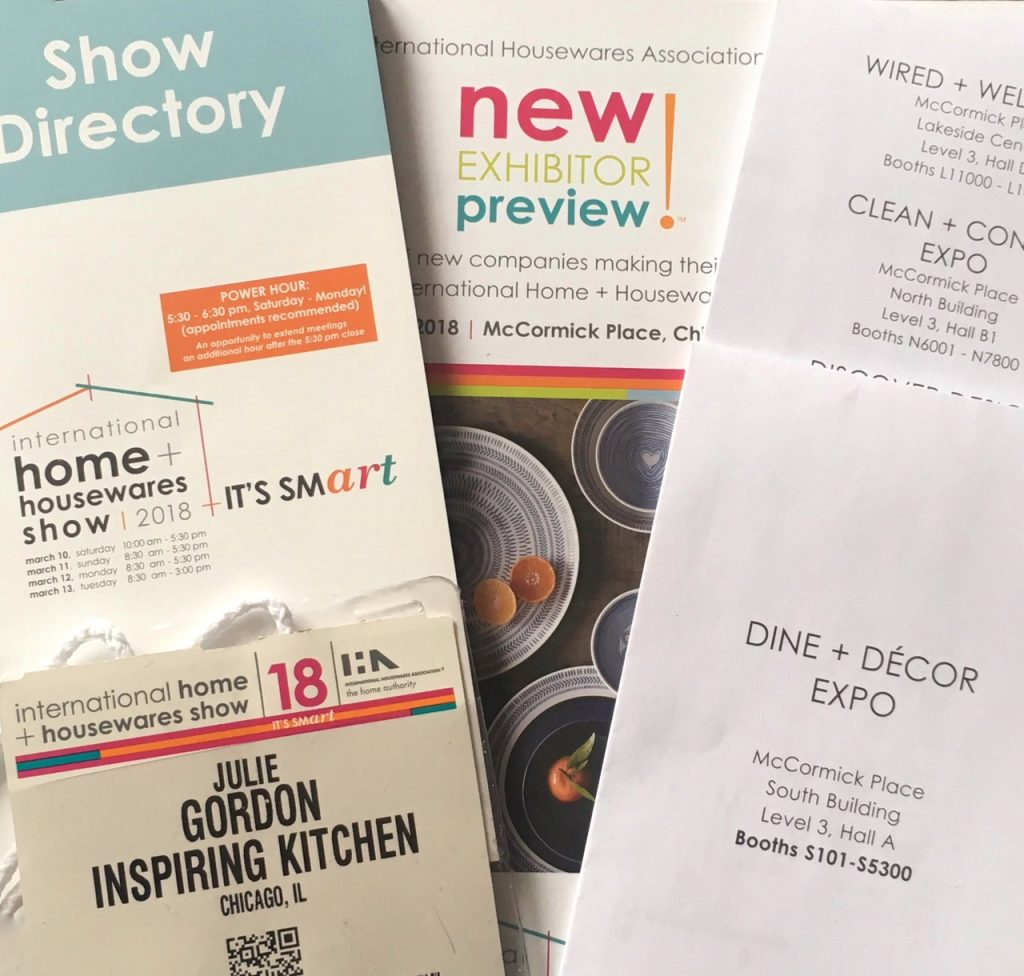 6 Tips for a Successful Housewares Show Experience