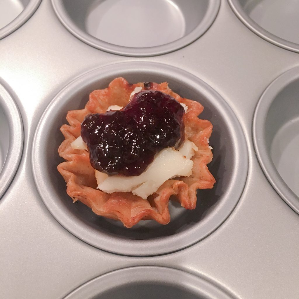 Athens Phyllo Shells Make Entertaining So Easy Brie Cheese Cherry Jam