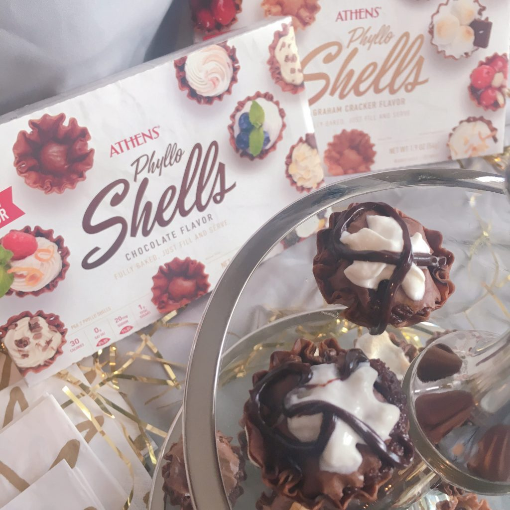 Athens Phyllo Shells Make Entertaining So Easy Chocolate Brownie