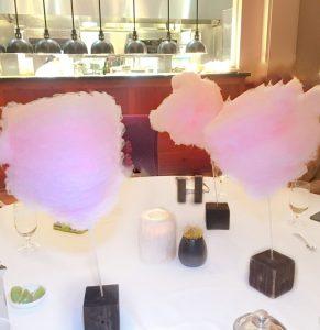 Ritz Carlton Reynolds Lake Oconee Linger Longer Steakhouse cotton candy