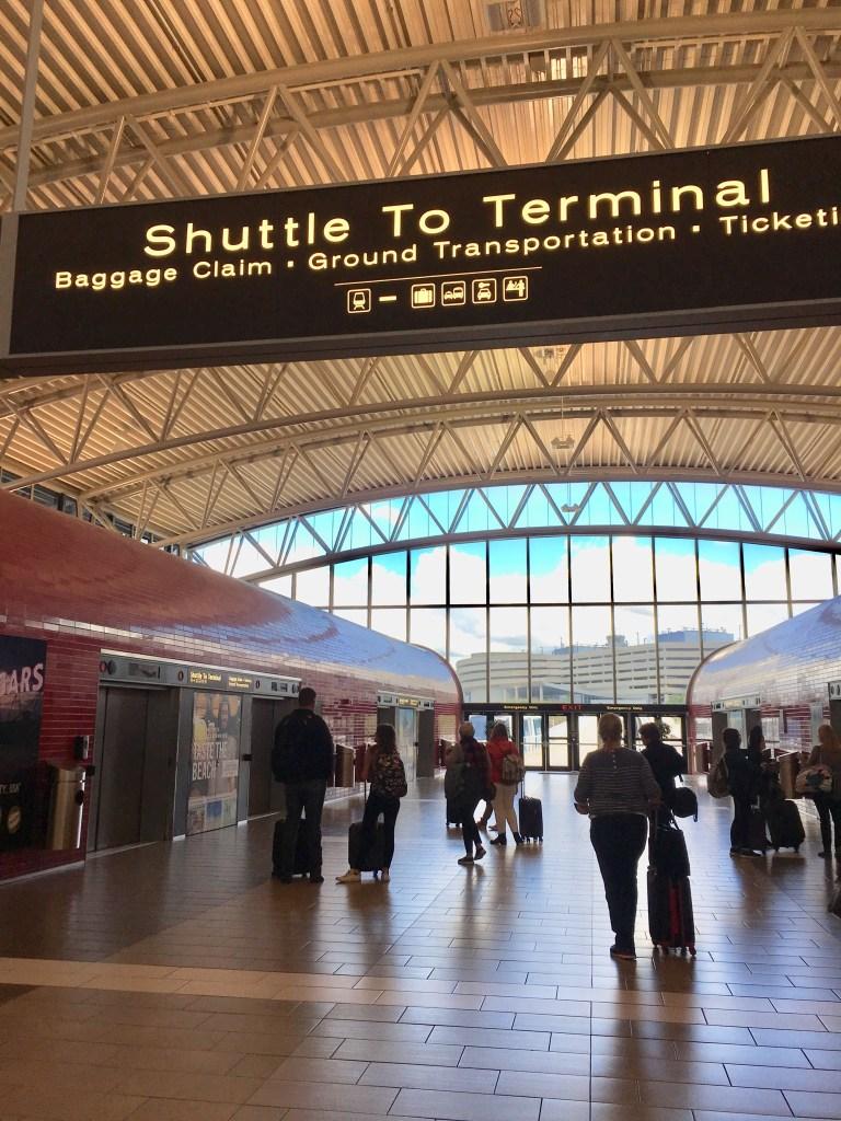 vacation Florida Gulf Coast Tampa International Airport People Mover