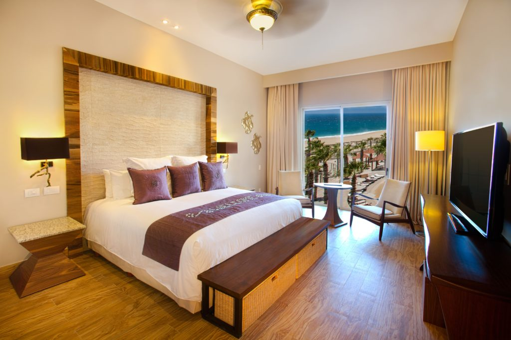 The Towers at Pacifica hotel room Adults Only Vacation to Pueblo Bonita Pacifica in Los Cabos