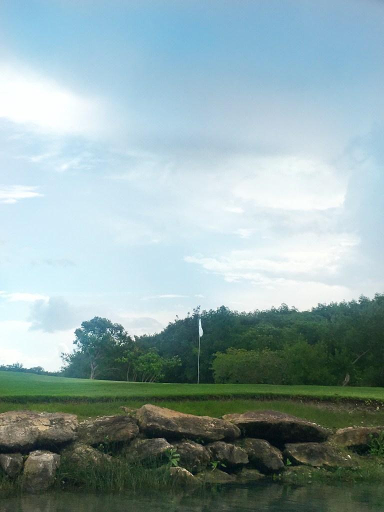 golf at mayakoba