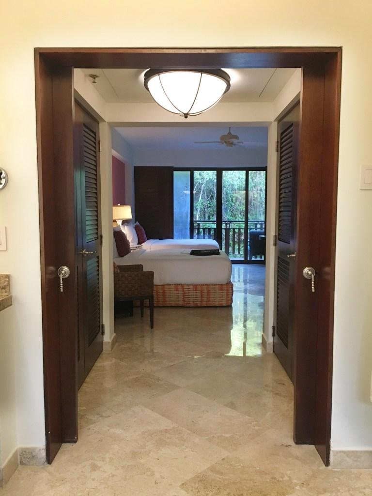 Fairmont Mayakoba resort hotel room