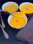 spoonful of butternut squash souip