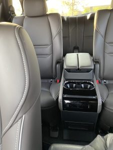 mazda captain chair seating