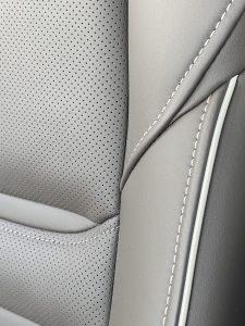 mazda leather seats