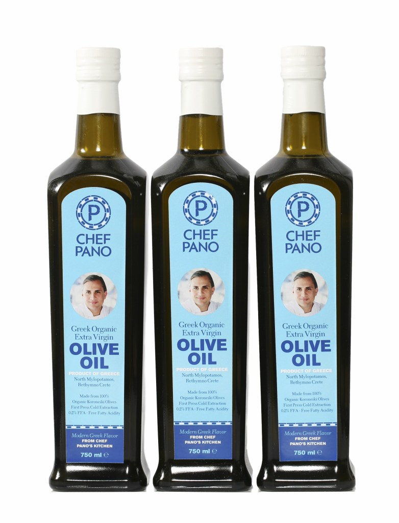 chef pano olive oil new summer food ideas