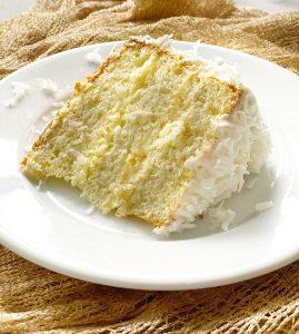 slice of cake laying down