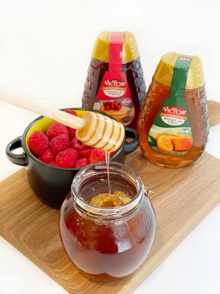 raspberry honey vinaigrette