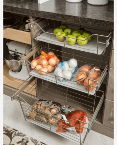 produce in pantry