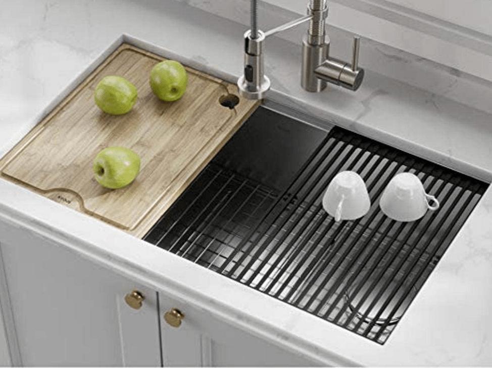 one big kitchen sink