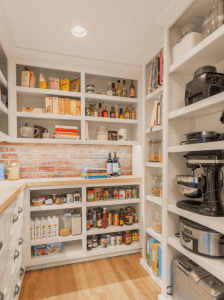 appliances in pantry