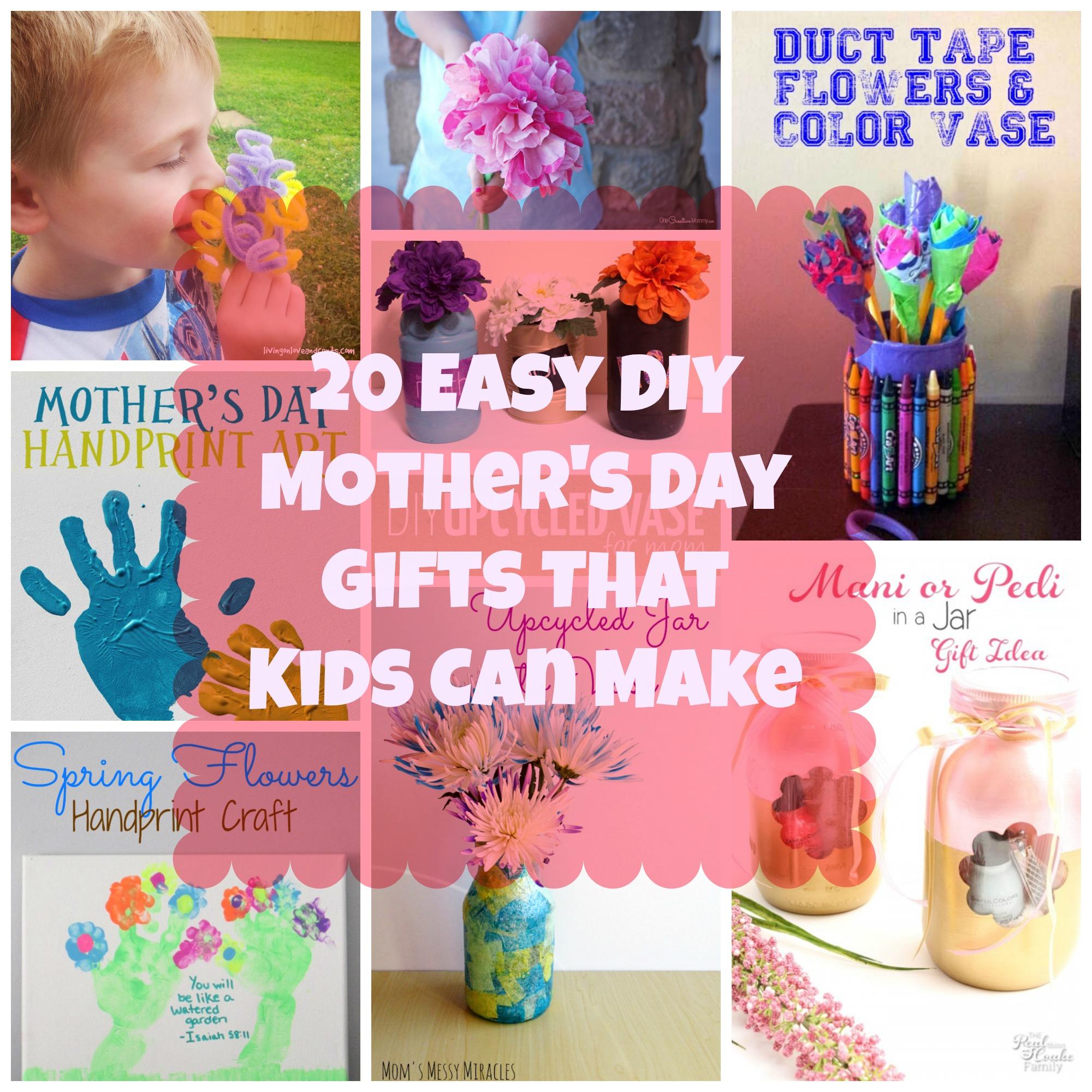 20 easy diy mother