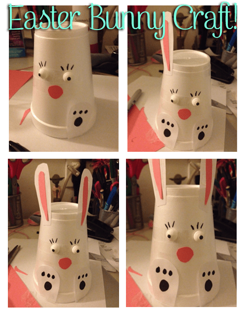Easter Bunny DIY Craft