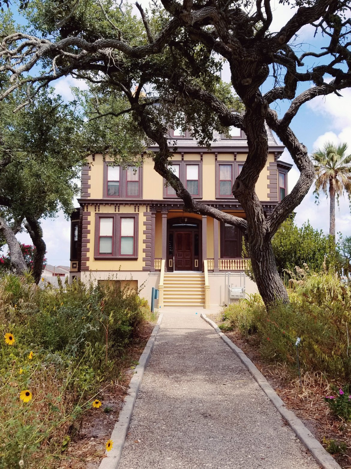 Rockport Texas Things to do in a weekend- Visit the Mansion