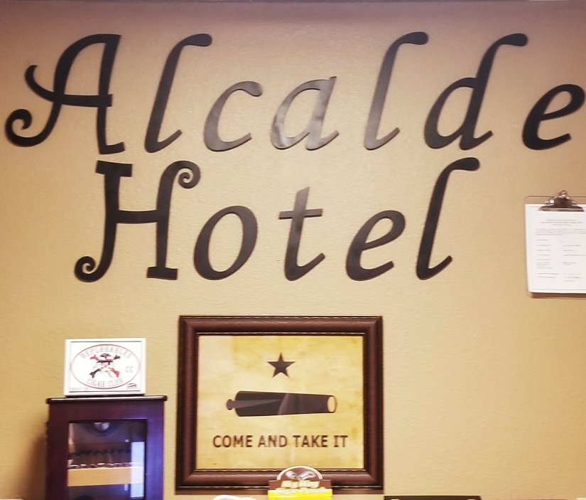 The Alcalde Hotel: A Historic Hotel In Gonzales- It is more like a bed and breakfast!