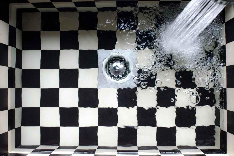 water kitchen bubble sink