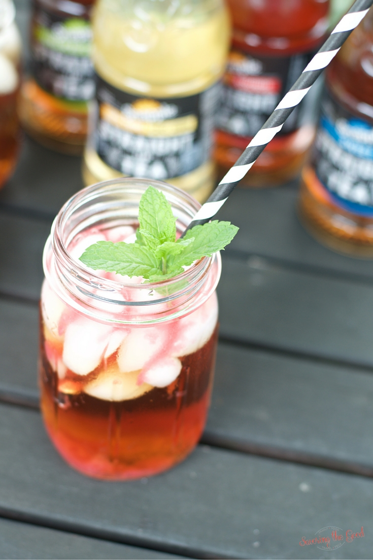 Rhubarb Iced Tea Recipe