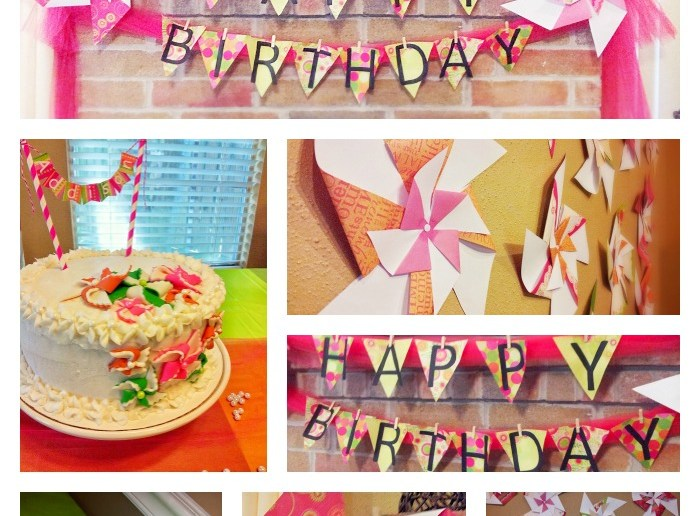 Pearls and Pinwheels Party Ideas For Girls