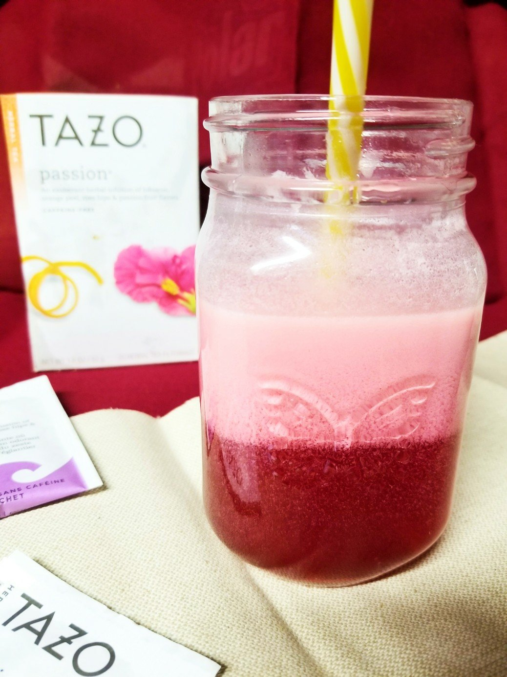 You will love this super easy kept pink drink using tea and other keto friendly ingredients. No syrup needed!