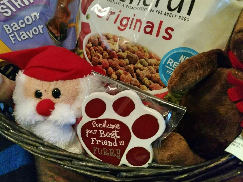 DIY Paw Print Salt Dough Ornament Recipe and DIY Dog Gift Basket