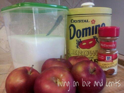 Semi-Homemade Apple Pizza Recipe