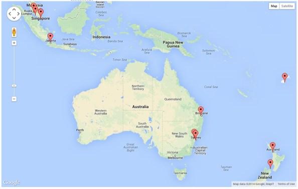 Site Visitors - Australia
