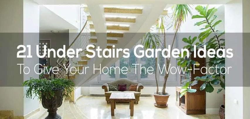 21 Under Stairs Pebble Garden Ideas   Interior Design Under Staircase   Ideas   Cupboard   Indoor Garden   Spiral Staircase   Shelves