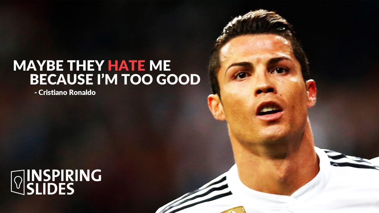 Nike Motivational Sports Quotes Wallpaper Cristiano Ronaldo Slide Inspiringslides Com