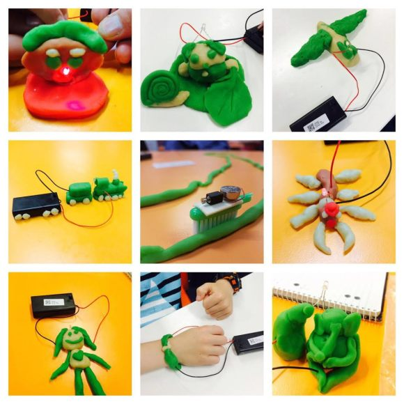 What Can You Do With Play Dough? Canberra's Smallest Scientists Making Robots for National Science Week.