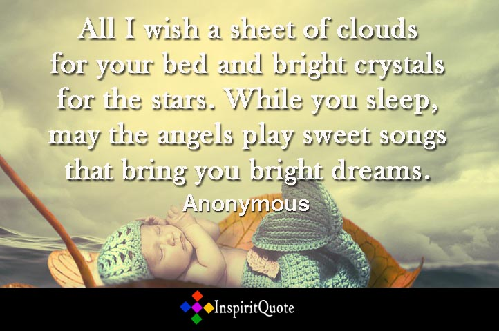 inspirational good night wishes