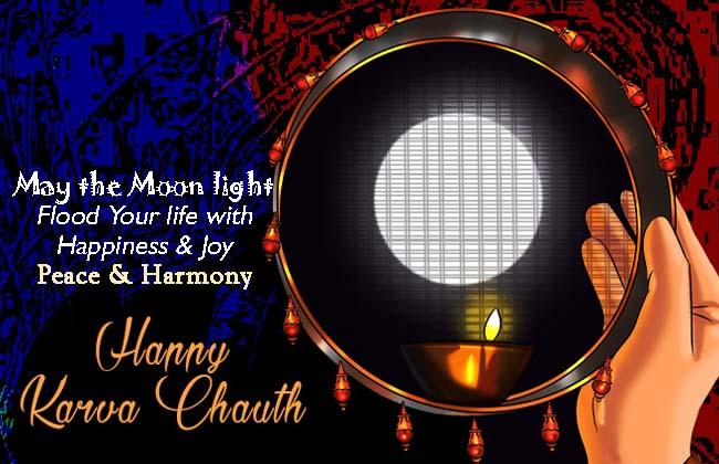 Happy Karwa/Karva Chauth wishes, Shayari, SMS, Quotes & Status in English