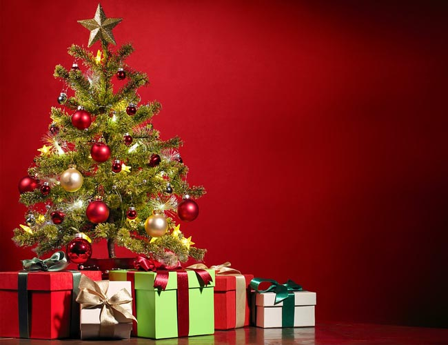 Merry Christmas images with tree